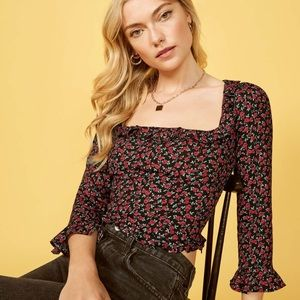 NWT Reformation Barb Top